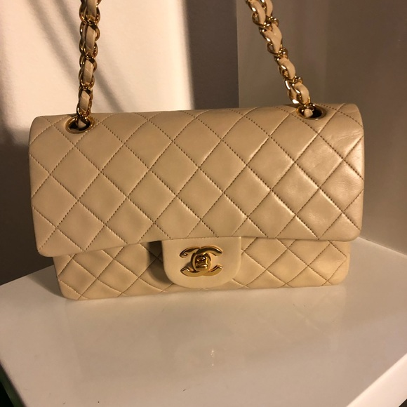27487cf7c955b6 CHANEL Bags | Sold Classic Beige Lambskin Double Flap | Poshmark